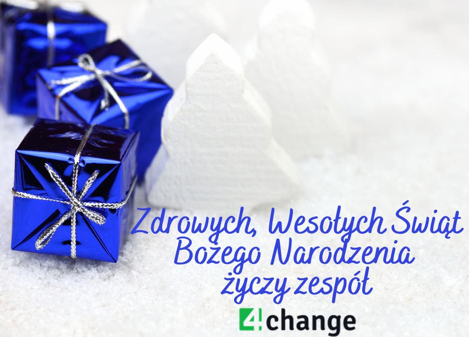 Wesołych Świąt życzy Zespół 4change!